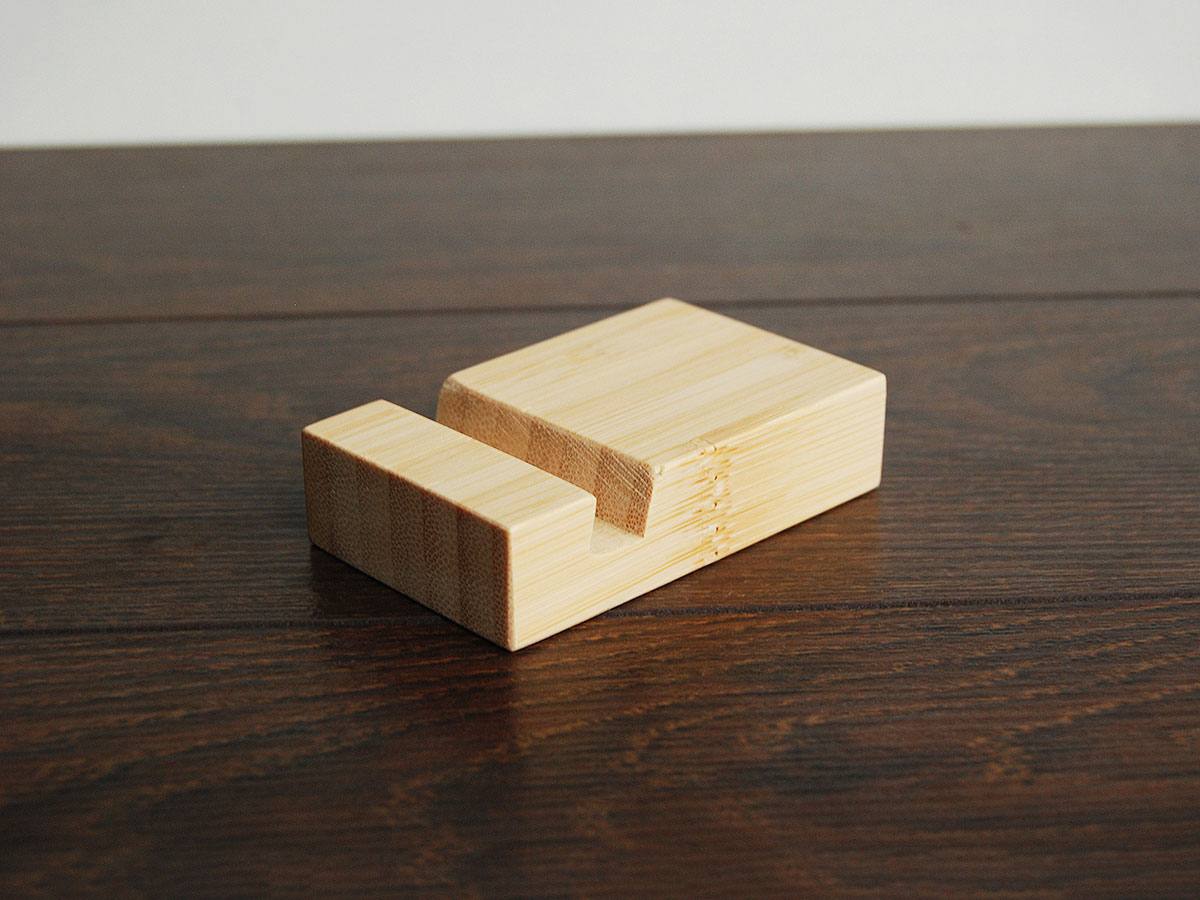 Bamboo Iphone Stand Tiny 07