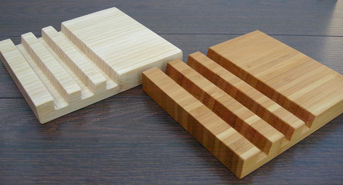 Wood Charging Station Bamboo 14