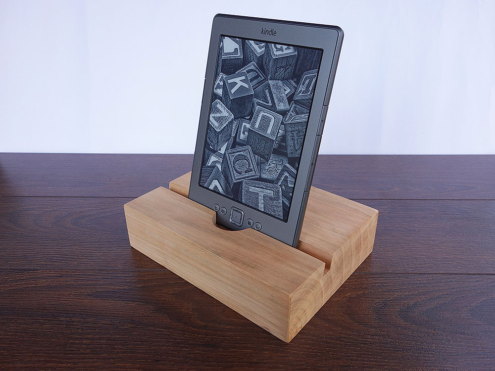 Wood Docking Station Set Cherry 01