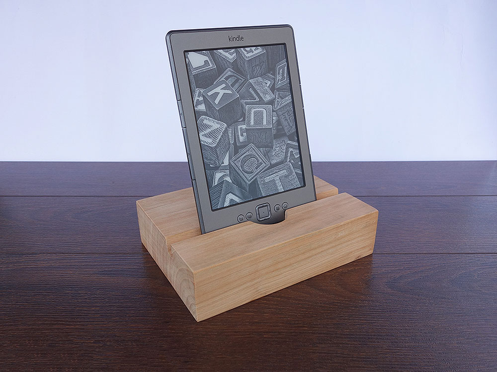 IPad AIR 2 Docking Station. IPad Dock. Cherry Wood.