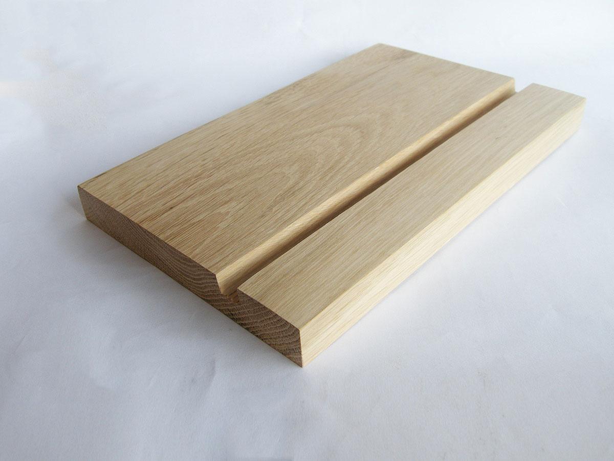 Wood Ipad Stand 2415 Oak 03