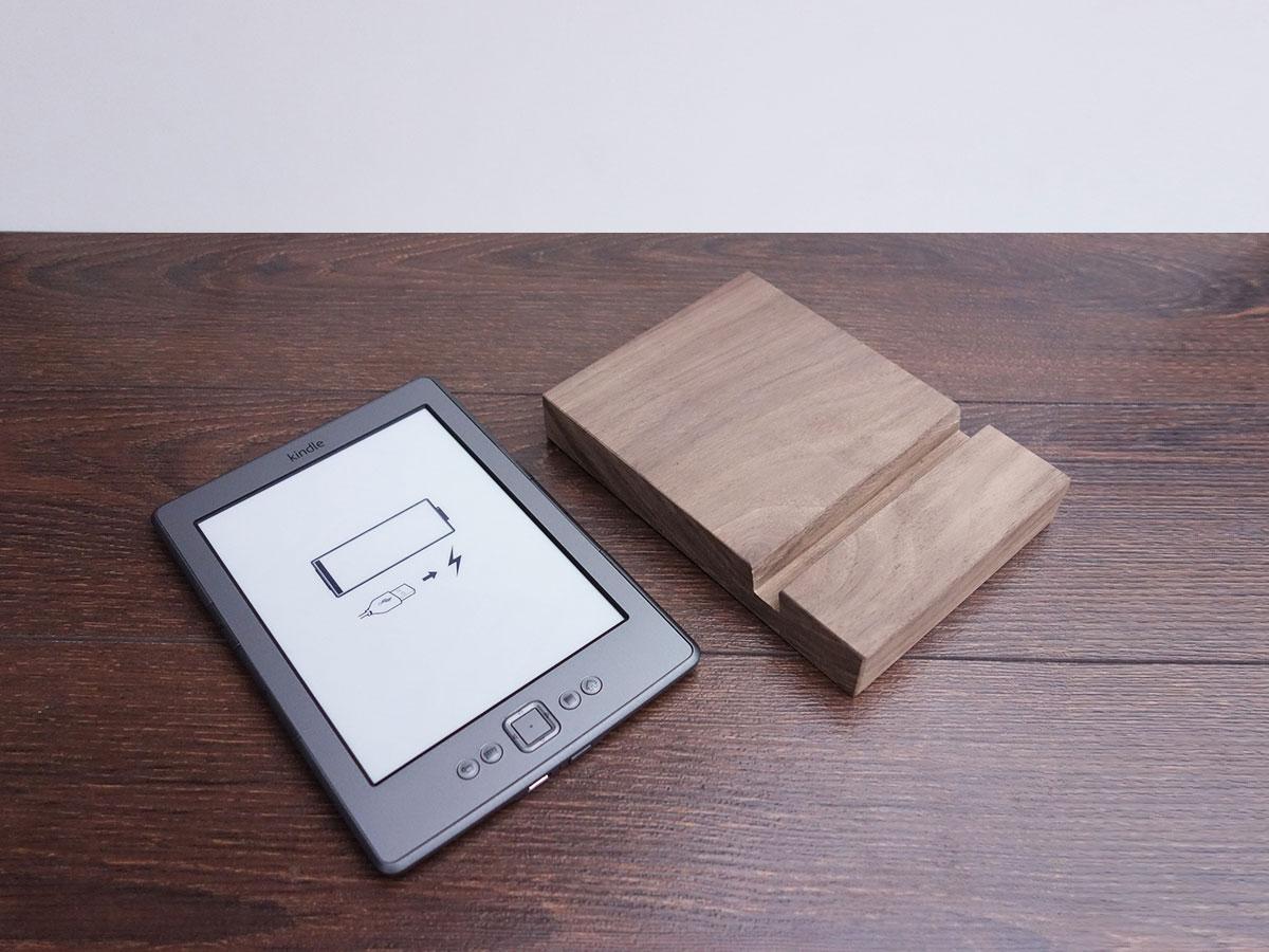 Wood Ipad Stand 97 Walnut 03