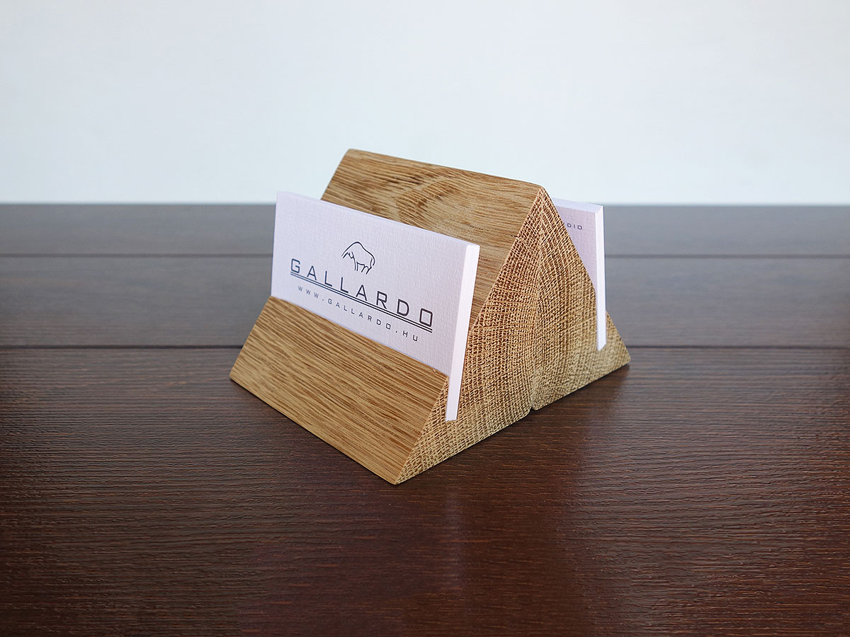 Free wooden business card holder plans images card for Wood business card holder plans
