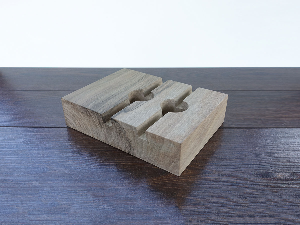 Wood Iphone6 Ipadair Stand 05