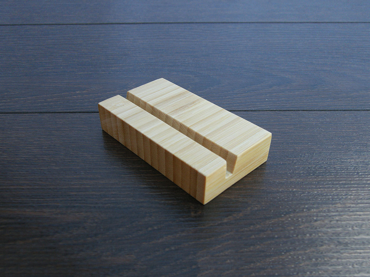 Wood Business Card Holder Bamboo 15
