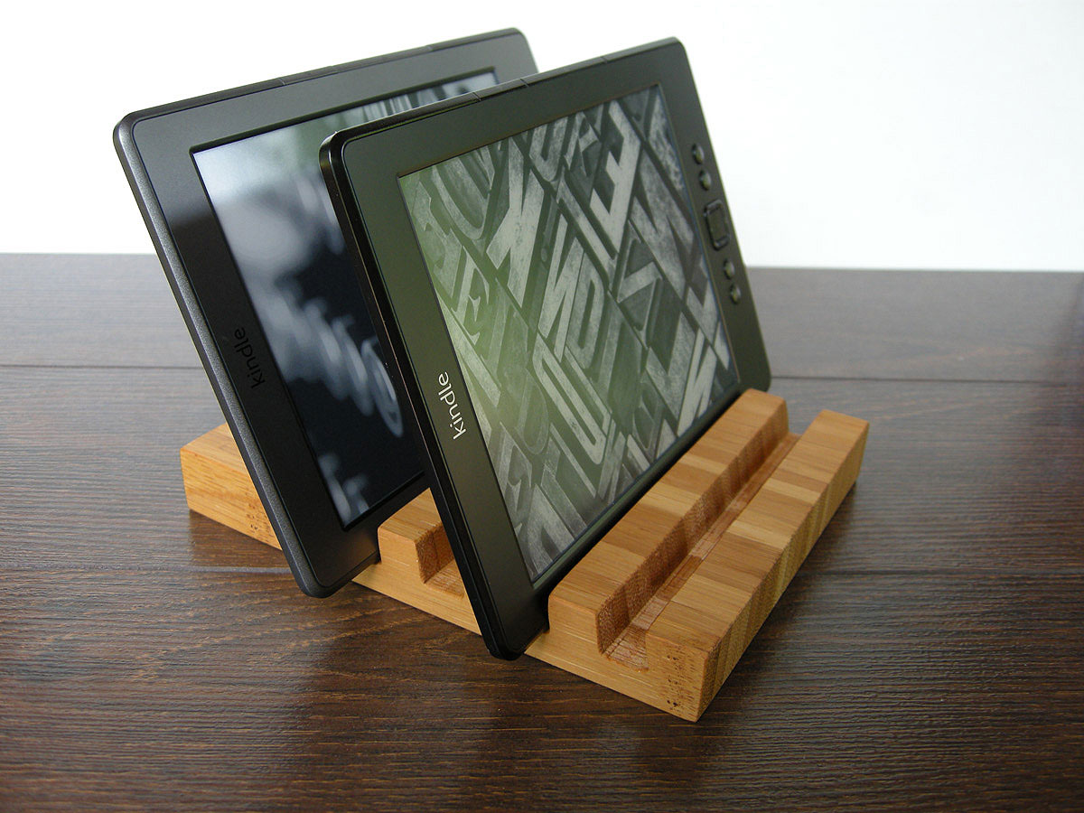 4 Slots IPad Charging Station From Choco Bamboo. Multi Device Ornagizer