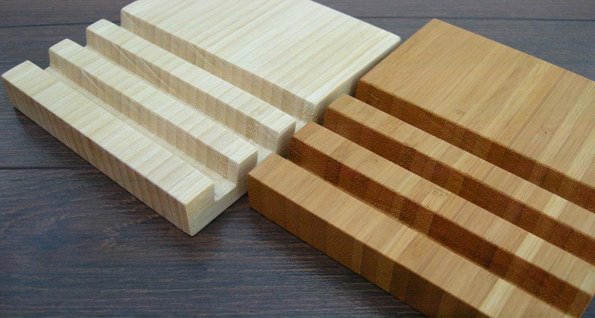Wood Charging Station Bamboo 13