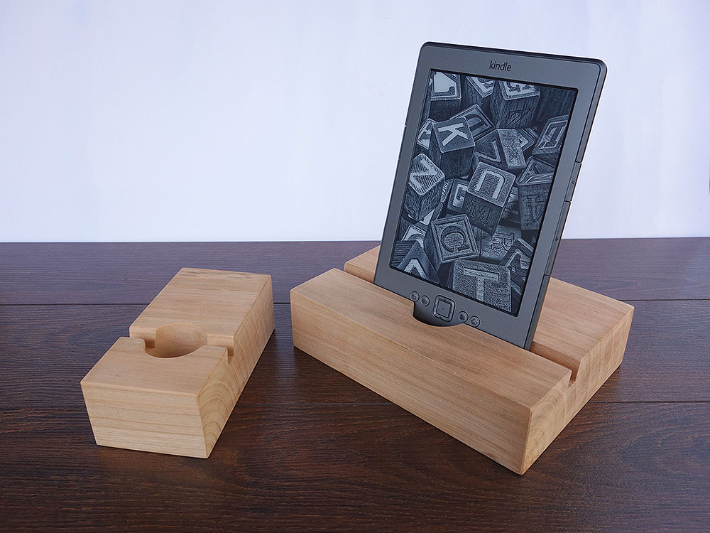 Wood Docking Station Set Cherry 03