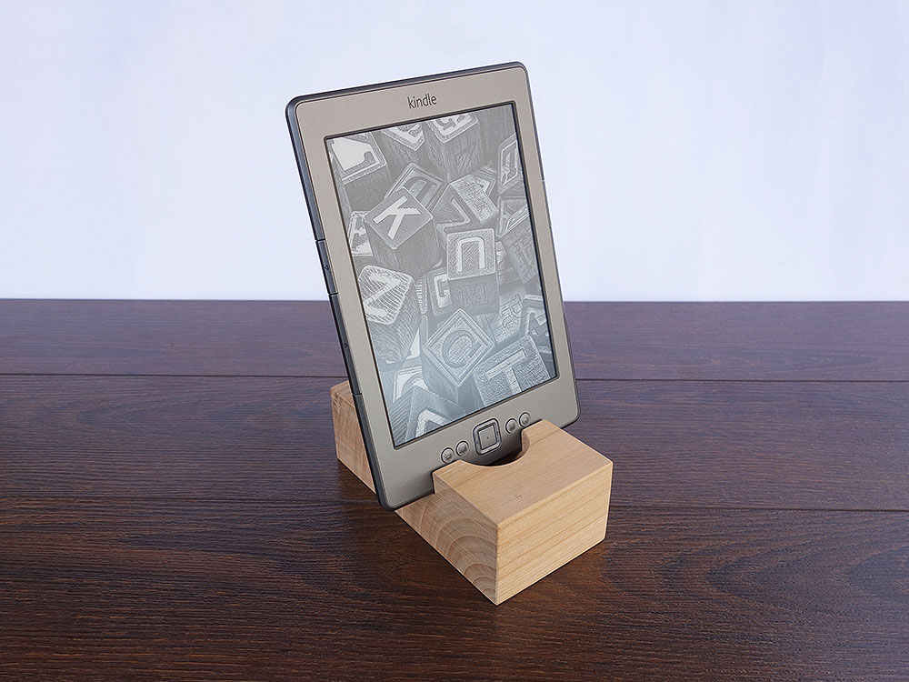 Wood Docking Station Set Cherry 10