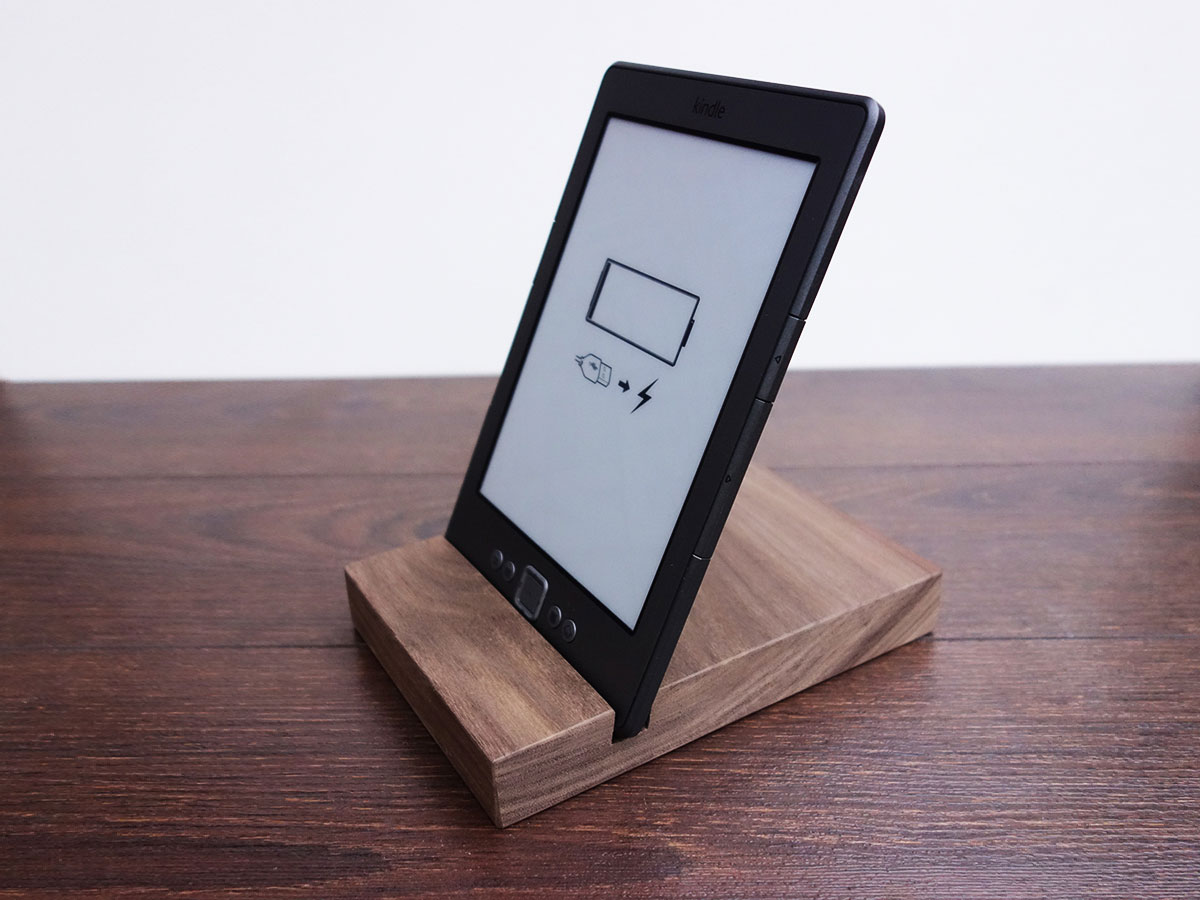 Wood Ipad Stand 97 Walnut 01