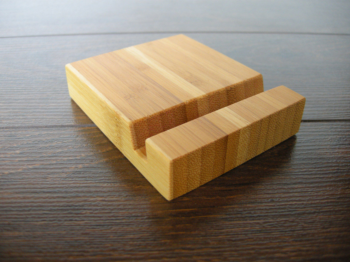 Wood Iphone Stand 97 Bamboo 10