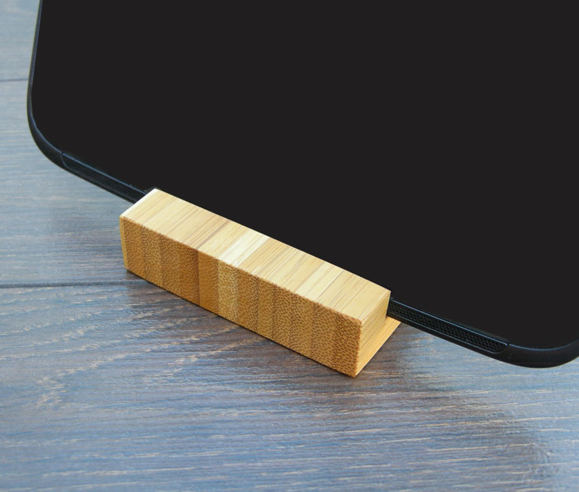 Wood Iphone Stand 97 Bamboo 11