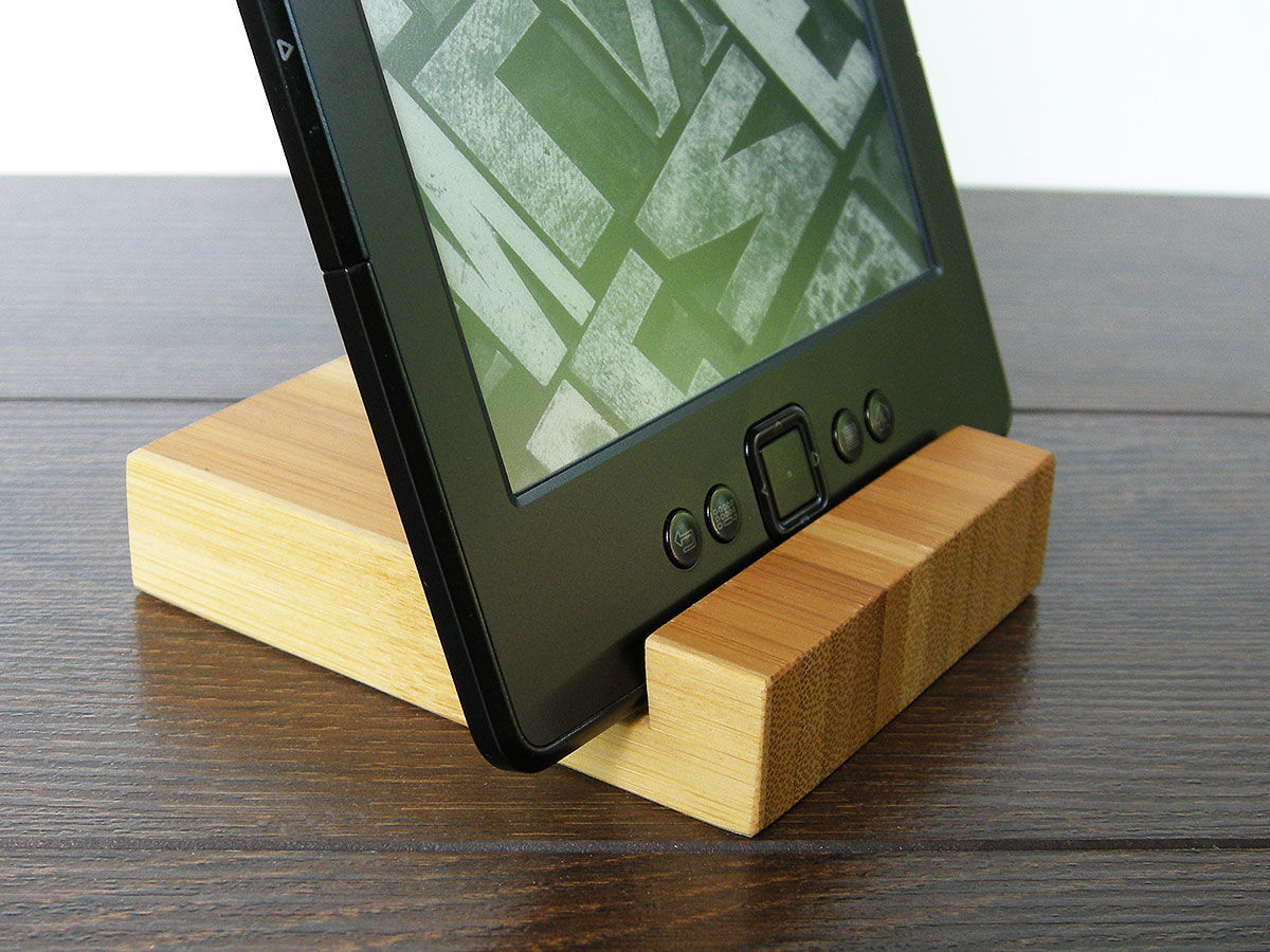 Wood Iphone Stand 97 Bamboo 15