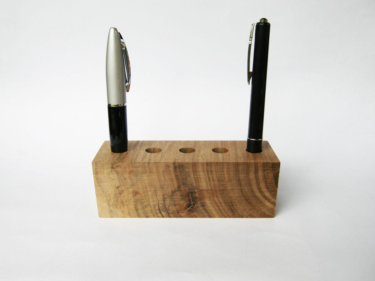 Wood Pen Holder Walnut 02
