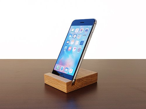 Wood IPhone Stand